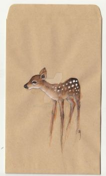 Fawn - re drawn by shishah