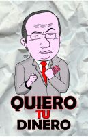 felipe calderon by dispararte