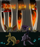 PMDO M0 - Playing With Fire - 00 by Evildraws