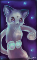 Chibi Persian Kitty ^///^ by Psunna