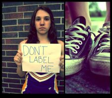 don't label me. by edgeoftheocean