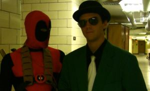 Deadpool and The Riddler by StrangeStuffStudios