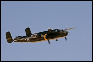 B-25 Nellis by AirshowDave