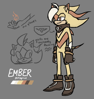 Ember the Porcupine by AciTW