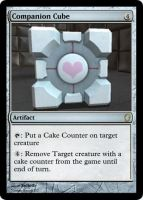 Magic Companion Cube by Xelioth