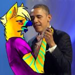Obama does CARE by HesperCambrie