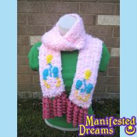 Pinkie Pie inspired Cosplay Scarf by ManifestedDreams