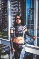 X-23 X-FORCE cosplay 04 by PansyBlack