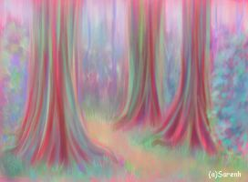 forest doddle by Sarenh