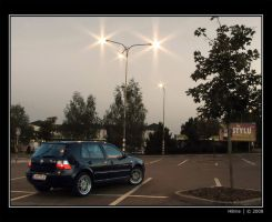 VW Golf IV back view by H8me-CZ