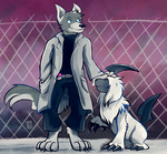 Commission - Wes and Absol by raizy