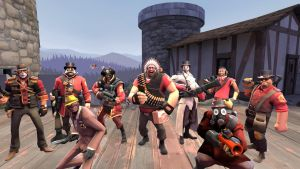 Cousin's Team Fortress 2 loadouts by CaptainPinkbeard