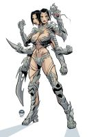 Witchblade Sahlia by EWG by LoneStranger