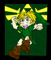 Link, he come to town by 50shadesofPitchBlack