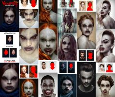 Vampire Photoshop Action by GraphicAssets