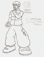 Chris, the determined by Reploid-Man
