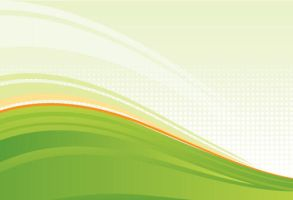 Wavy Green Background by vectorbackgrounds