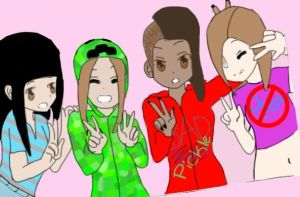 Me and My Friends by minecraft1113
