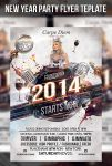 New Year Party Flyer Template by cerceicer