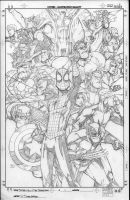 Spidey and the Secret Wars 1 by PScherberger
