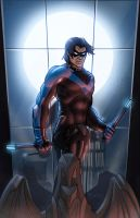 nightwing by juanFoo