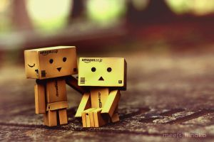 Smile, danbo ... by meeshinoko