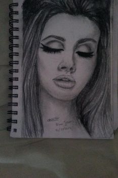 Charcoal Drawing by Alatariels