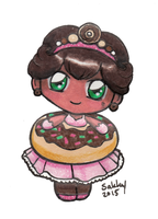 Chibi Donut Princess by sakkysa