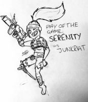 PoTG: Serenity as JUNKRAT by Whooshie-Duck