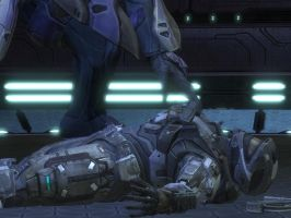 halo reach: down knocked out by purpledragon104