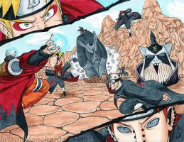Naruto vs Pain by BrianDBlanchard