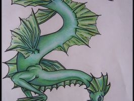 Water Dragon by supernaturalsarah