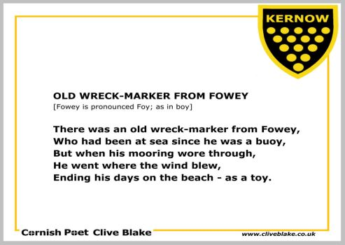 Poem of Cornwall 05a -Cornish Poet Clive Blake by CliveBlake