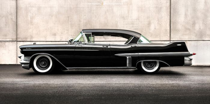 lowered 1957 Cadillac Series 62 - Shot 4 by AmericanMuscle