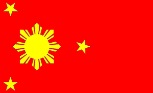 Flag of the Communist Philippines by kyuzoaoi