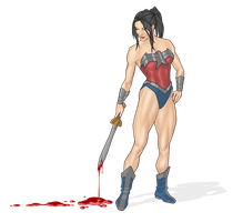 Wonder Woman + more color by Georgel-McAwesome
