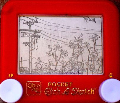 street view etch a sketch by pikajane