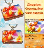 Charmeleon Card Necklace by bapity88