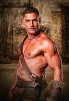 Blood and Sand: Crixus: Oil Paint Re-Edit by nerdboy69