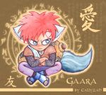 Gaara Raccoon by Callyzah