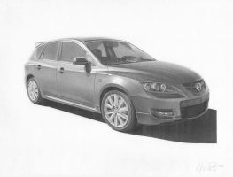 Mazdaspeed 3 by mhprice