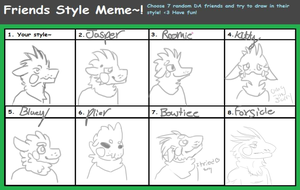 Style meme by TheBirb