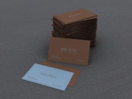 business cards by conga