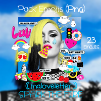 Pack Emojis SPARK THE FIRE by inaloveletter