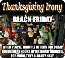 Thanksgiving Irony by paradigm-shifting