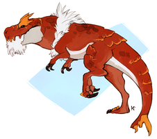 Tyrantrum by Susiron