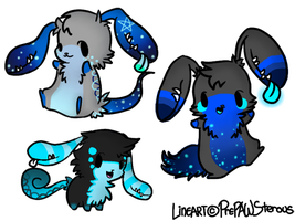 EarMouth Adoptables(closed) by PrePAWSterous