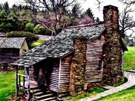 House in the Smoky Mountains by Maggiesdaisy