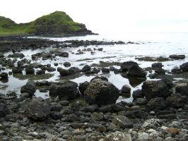 Irish Coast: Giant's Causeway by Lyssana11