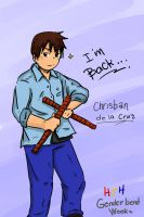HJH Genderbend Week Christian by abegailbucu